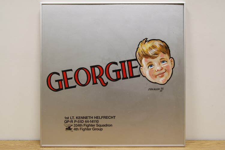 "4th Fighter Group ""Georgie"" Nose Art"