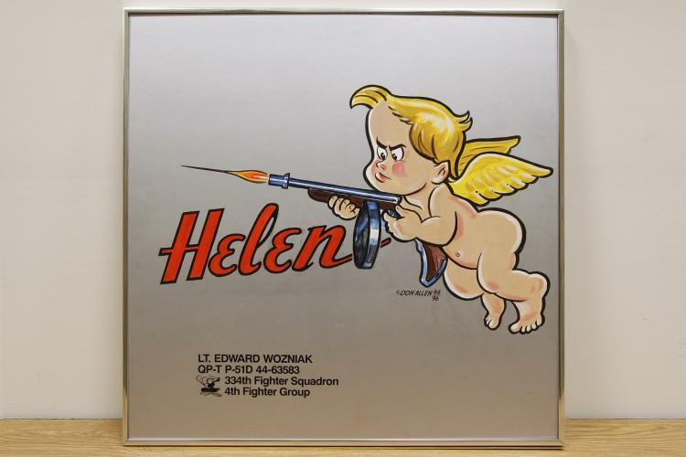 "4th Fighter Group ""Helen"" Nose Art"