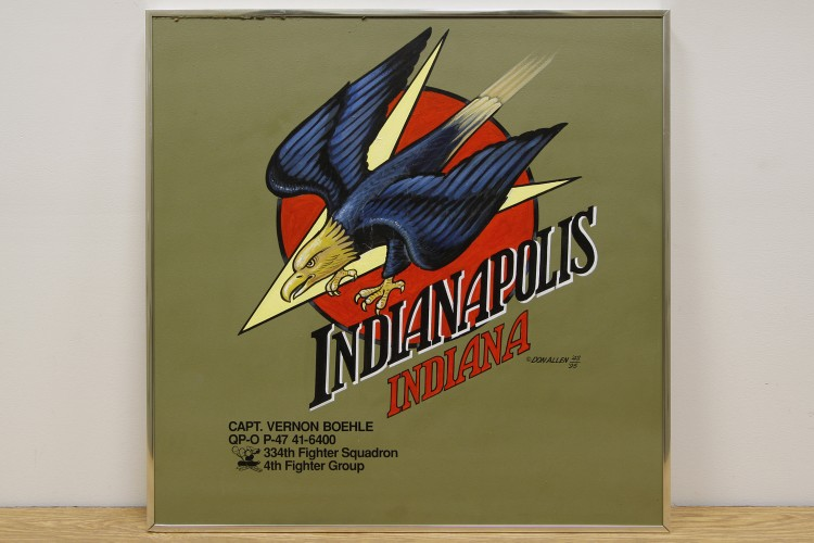 "4th Fighter Group ""Indianapolis, Indiana"" Nose Art"
