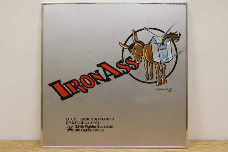 """4th Fighter Group """"Iron Ass"""" Nose Art"""
