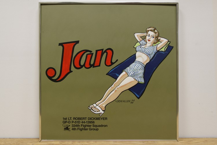 "4th Fighter Group ""Jan"" Nose Art"