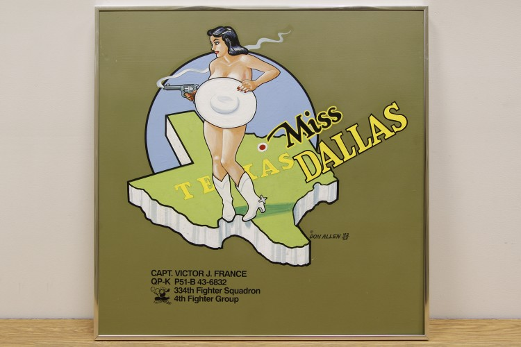 "4th Fighter Group ""Miss Dallas"" Nose Art"