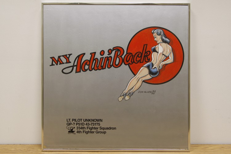 "4th Fighter Group ""My Achin' Back"" Nose Art"