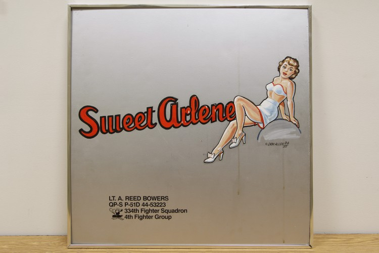 "4th Fighter Group ""Sweet Arlene"" Nose Art"