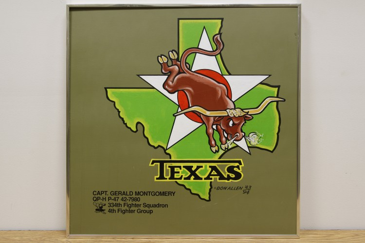 "4th Fighter Group ""Texas"" Nose Art"