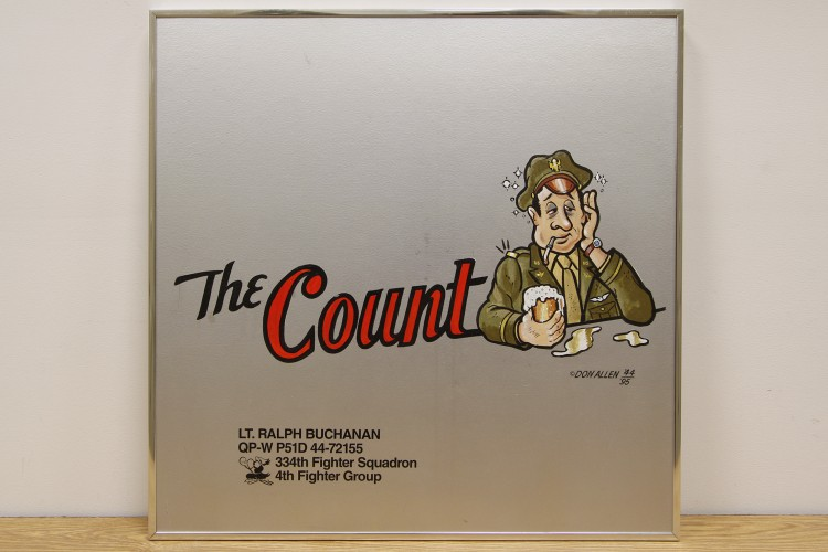 "4th Fighter Group ""The Count"" Nose Art"
