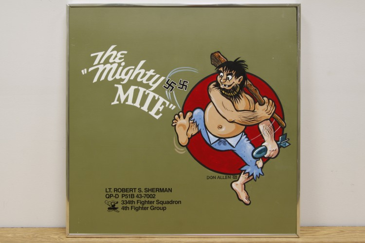 "4th Fighter Group ""The Mighty Mite"" Nose Art"