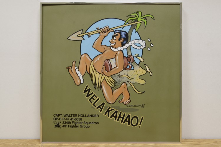 "4th Fighter Group ""Welakahao"" Nose Art"