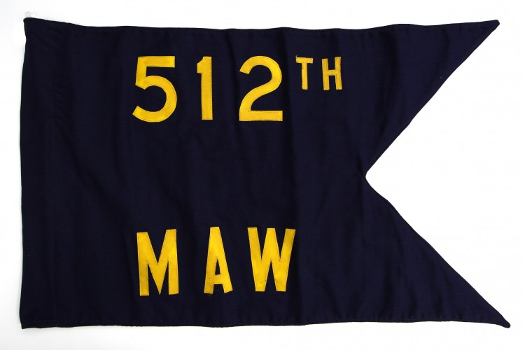512th Military Airlift Wing Guidon