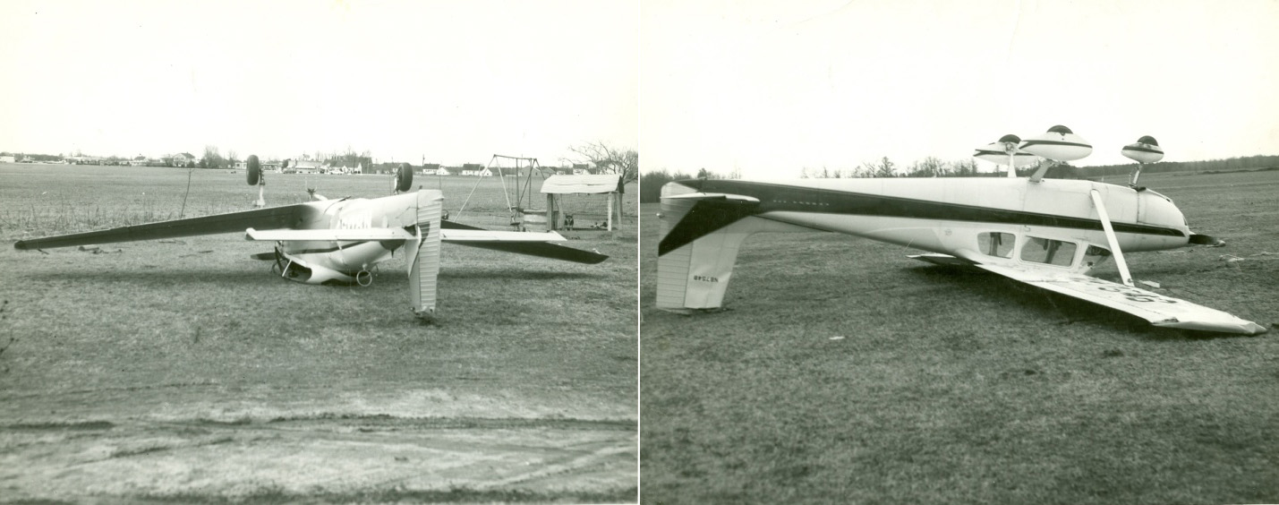Dover's First Aero Club - Navion L-17 and Cessna 172 - Great March Storm of 1962