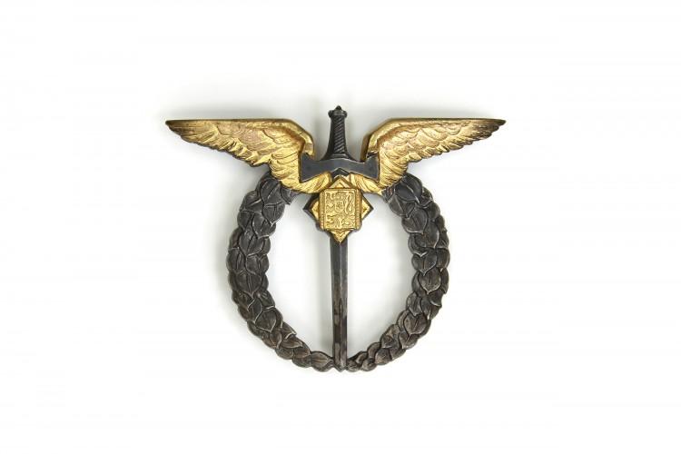 Czechoslovakia Pilot Aviation Badge