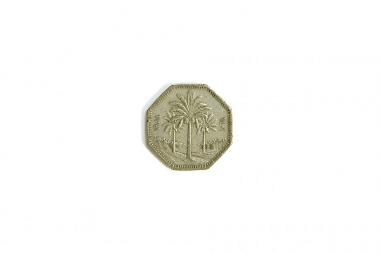 Iraqi 250 Fils Coin
