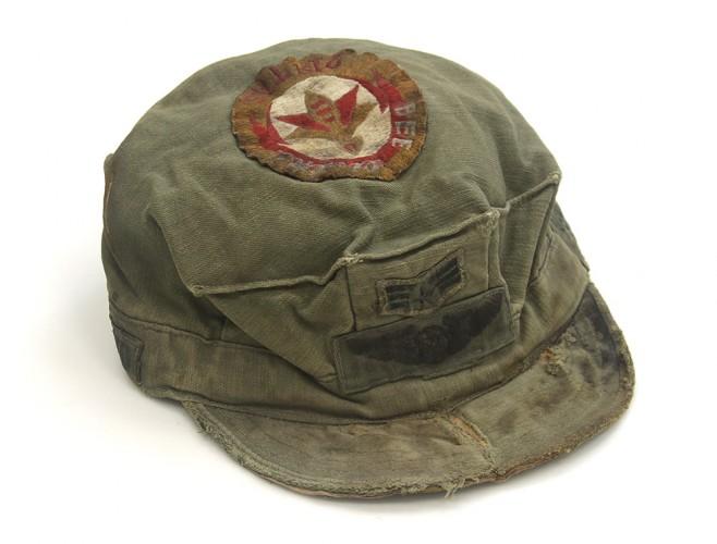Marine-style Green Field Cap
