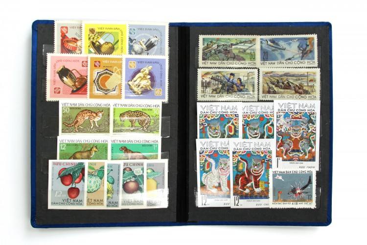 North Vietnamese Postage Stamps