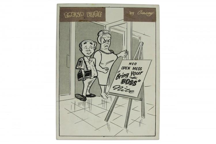 Round Here Cartoon #09