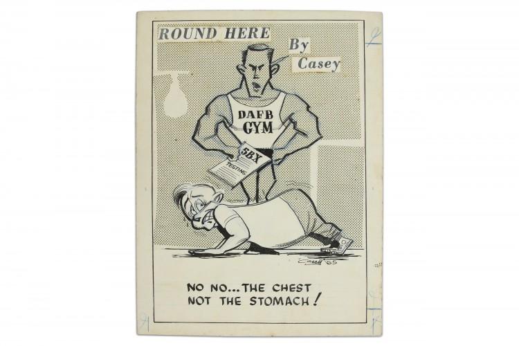 Round Here Cartoon #15