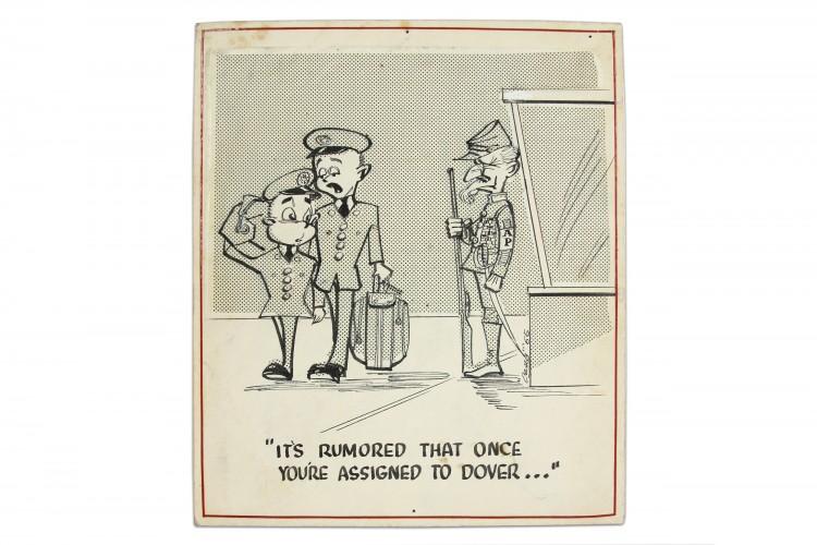 Round Here Cartoon #16