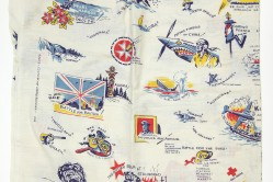 WWII Feedsack Cloth