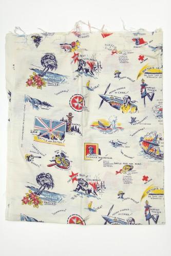 WWII Feedsack Cloth