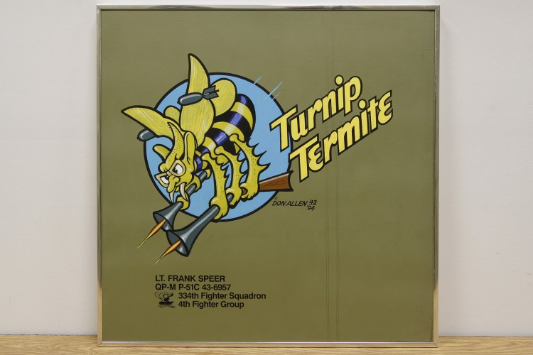 "4th Fighter Group ""Turnip Termite"" Nose Art"