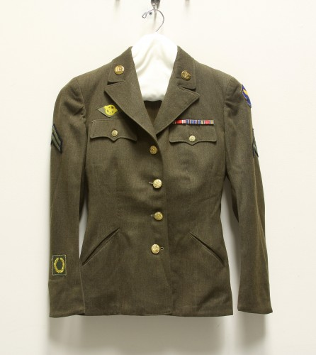 Woman's Olive Drab Service Coat
