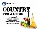 16 Country Wine and Liquor Cheswold
