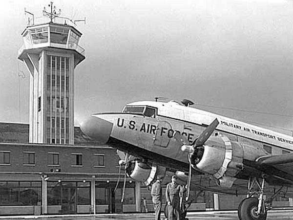 Burtonwood - MATS 1954
