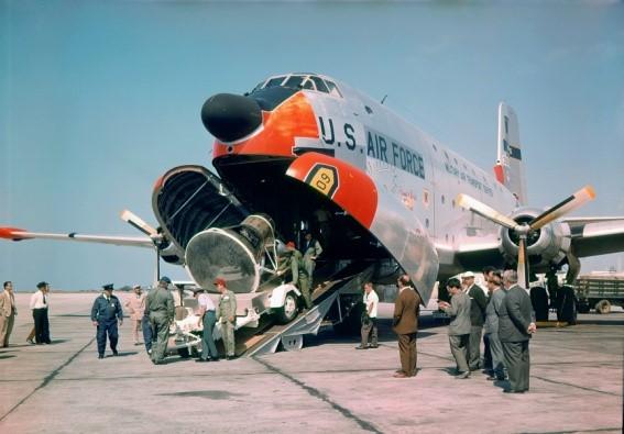 C-124 Globemaster II NASA