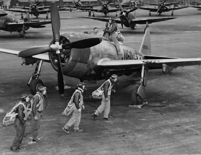 P-47 Thunderbolt - Dover Army Air Field