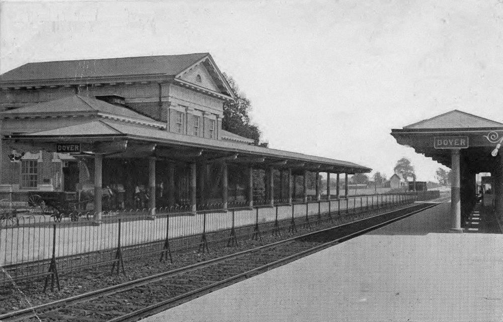 Trackside PRR Station Dover, Delaware