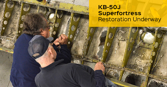 KB-50 Restoration Underway