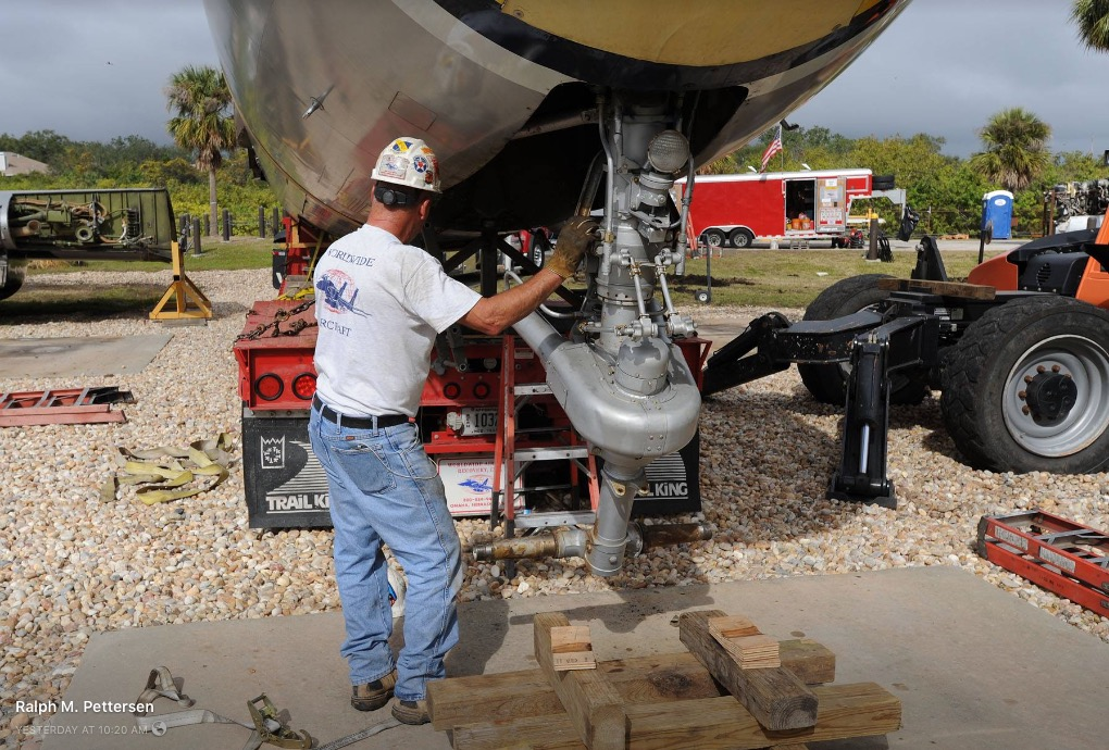 KB-50J Superfortress Restoration Underway - Air Mobility Command Museum
