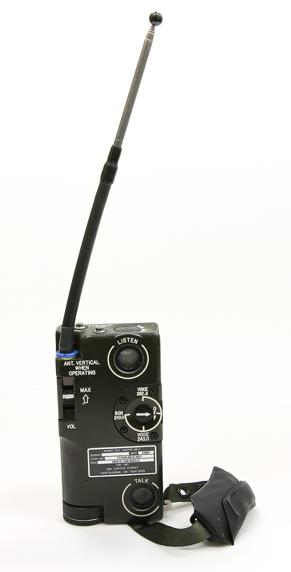 AN/PRC-90-2 Radio Set - Air Mobility Command Museum