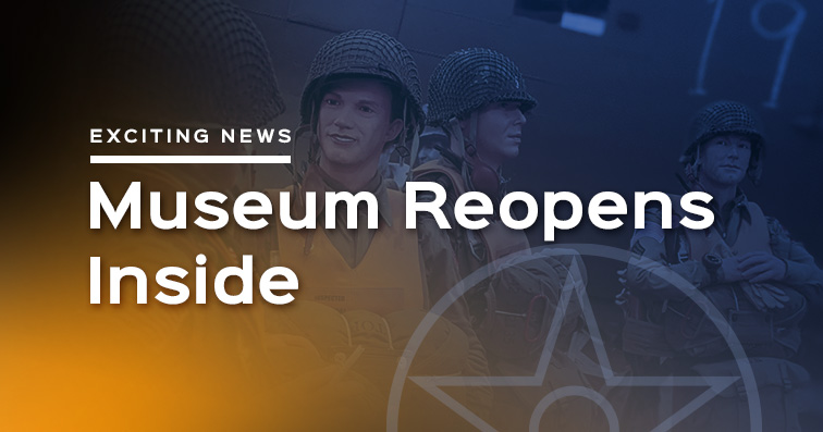 Museum Reopens Inside Hangar